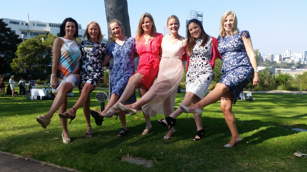 Limo Hire Perth assisting birthday celebrations with these lovely ladies at Kings Park
