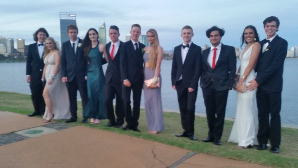 LImousines Unlimited Happy School Ball Limo Hire Customers Perth