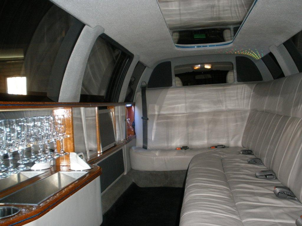 Interior of statesman limo
