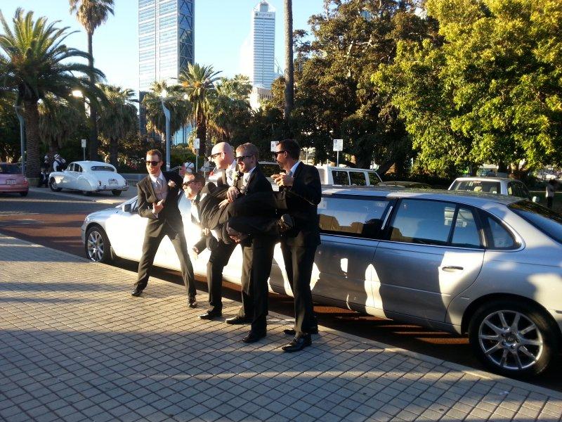 Limo hire Perth wedding