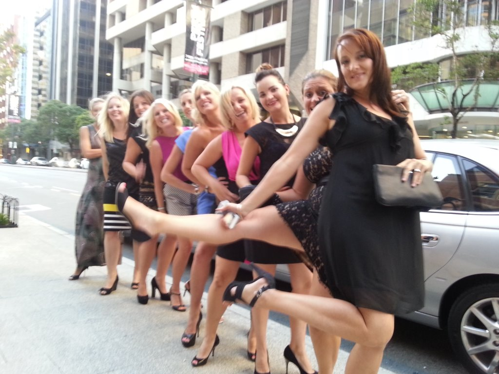 Wedding limo hire for lovely ladies having a day out