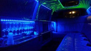 inside limo